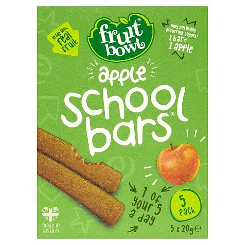 Fruit Bowl School Bars Apple