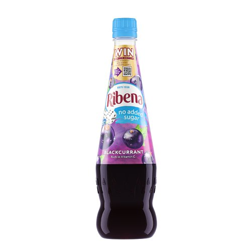 Ribena No Added Sugar Blackcurrant