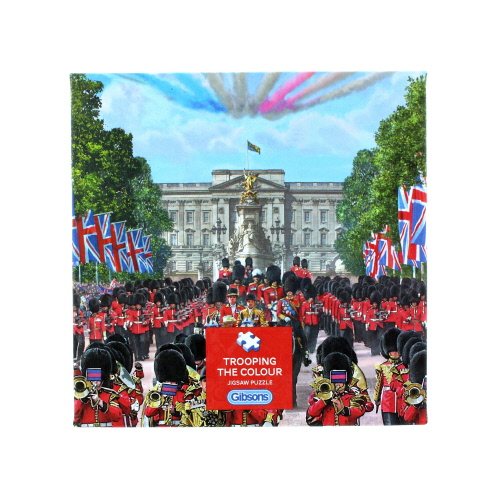 Gibsons Trooping The Colour Jigsaw Puzzle 500 Piece