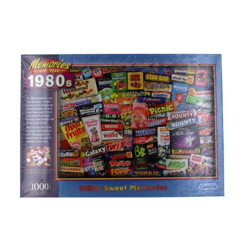 1980/'s Sweet Memories 1000 Piece Jigsaw Puzzle