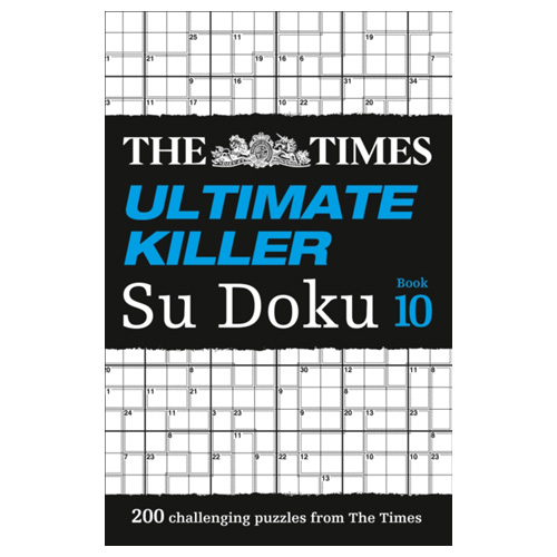 Image of The Times Ultimate Killer Su Doku Book 10 200 Challenging Puzzles from the Times