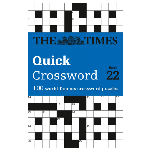 Image of The Times Quick Crossword Book 22 100 General Knowledge Puzzles from the Times 2