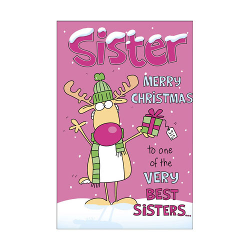Merry Christmas Sister.Sister Merry Christmas To One Of The Very Best Sisters