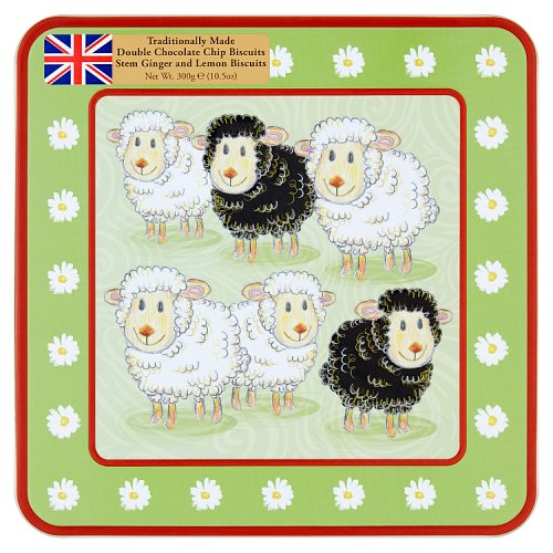 Grandma Wild's Mixed Biscuits in Sheep Tin