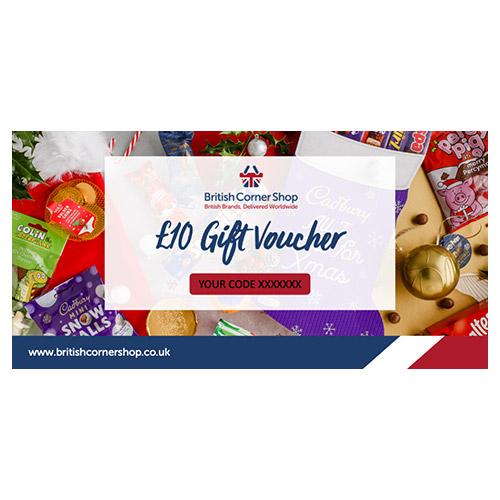 £10 British Corner Shop Gift Voucher