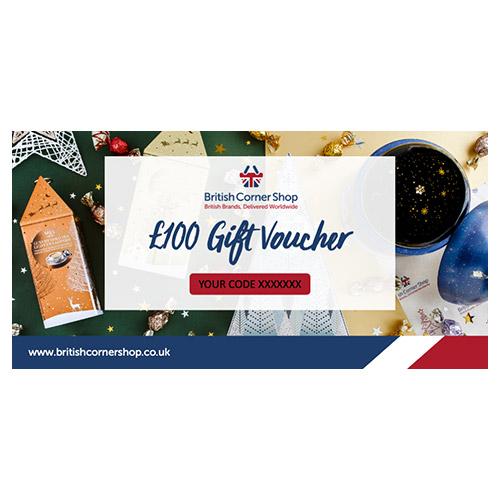 £100 British Corner Shop Gift Voucher
