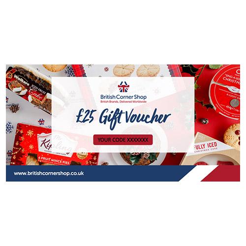£25 British Corner Shop Gift Voucher