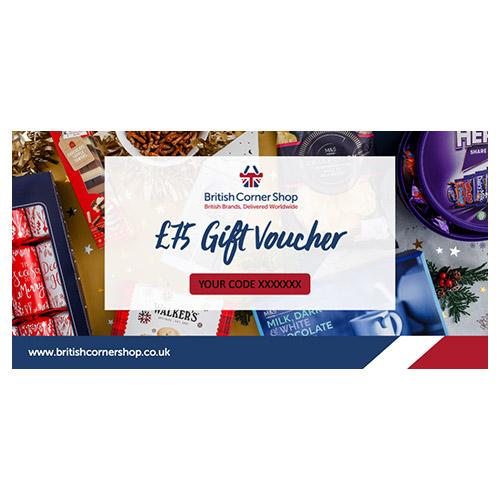 £75 British Corner Shop Gift Voucher