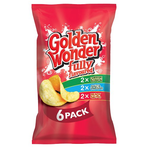 Golden Wonder Variety 6 Pack