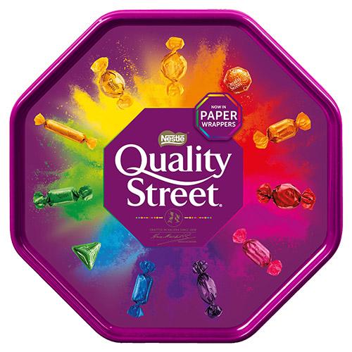 Nestle Quality Street Tub Tins And Tubs