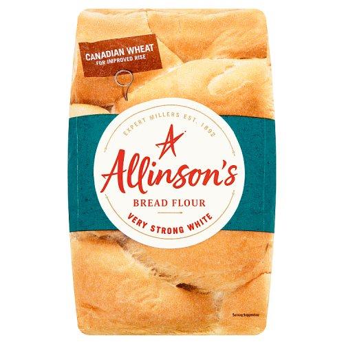 Allinson Bakers Grade Very Strong White Bread Flour