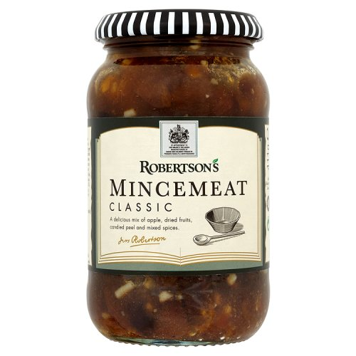 Robertsons classic mincemeat fruit nuts filling for English mincemeat recipe