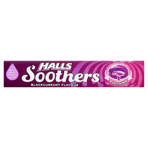 Halls Soothers Blackcurrant 10s