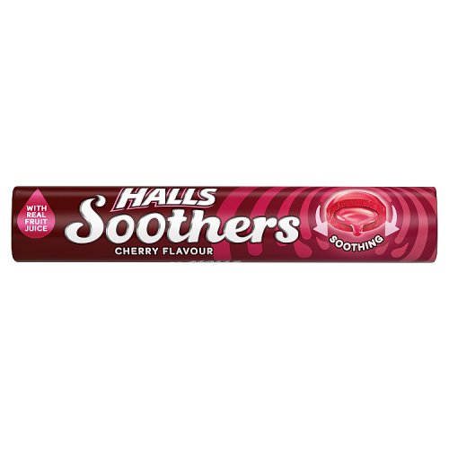 Halls Soothers Cherry 10s