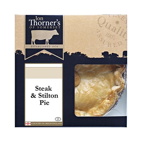 Jon Thorners Beef & Stilton Pie