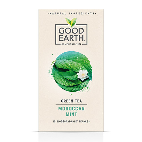 Good Earth 15 Teabags Moroccan Mint x 5