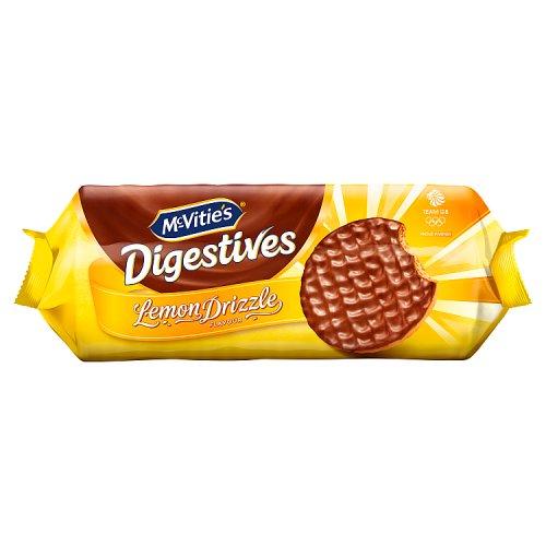 Cakes, Snacks & Sweets Mcvities Chocolate Digestives Lemon Drizzle