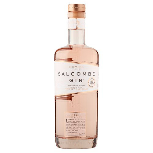Alcoholic Drinks Salcombe Gin Rose Sainte Marie 70cl