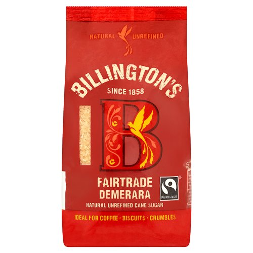 Billingtons Fairtrade Demerara Sugar