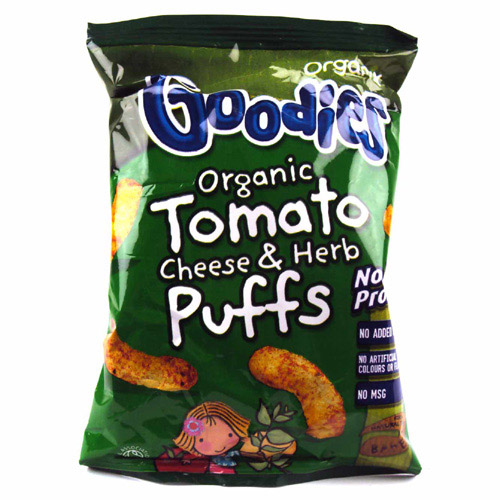Organix 12 Month Tomato Cheese and Herb Puffs
