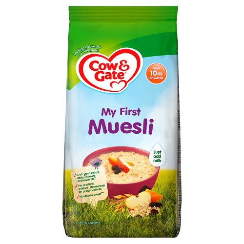 Cow & Gate 10 Month Toddler Balance My First Muesli Packet