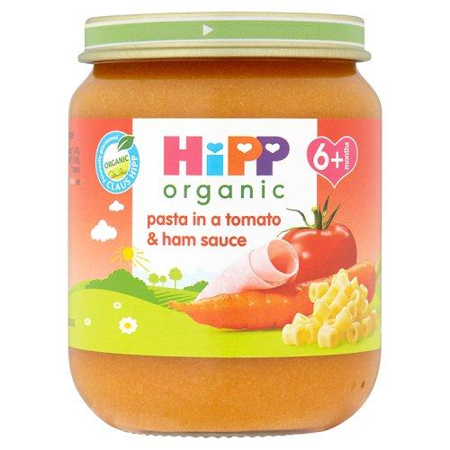 Hipp 6 Month Organic Pasta in Tomato & Ham Sauce