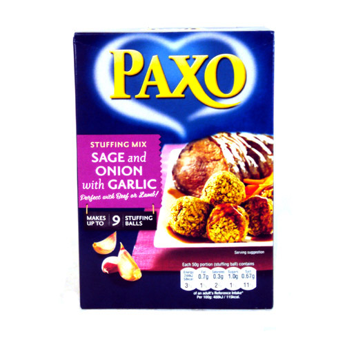 Paxo with a Twist of Garlic Stuffing
