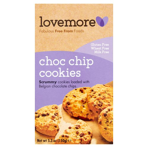 Lovemore Gluten Free Chocolate Chip Cookies