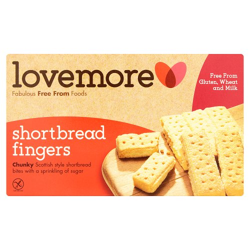 Lovemore Gluten Free Shortbread Fingers