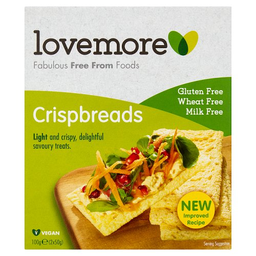 Lovemore Gluten Free Crackerbread