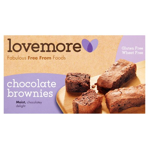 Lovemore Gluten Free Chocolate Brownies