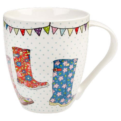 Image of Caravan Trail Crush Festival Wellies Mug