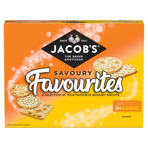 Jacobs Favourite Savoury Biscuit Selection