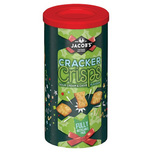 Cakes, Snacks & Sweets Jacobs Cracker Crisps Caddy Sour Cream & Chive