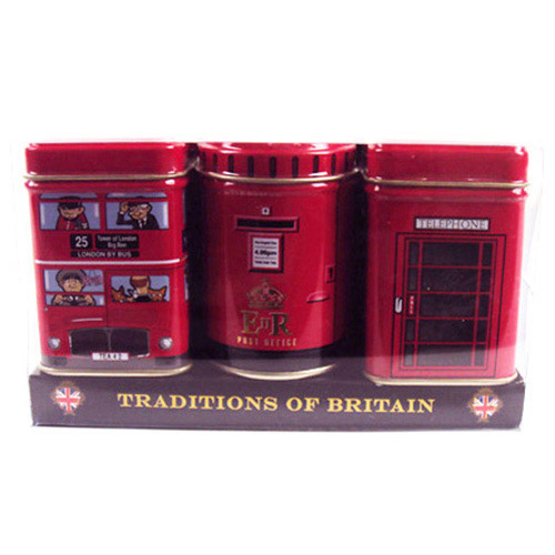 Traditions Of Britain Heritage Tins Pack