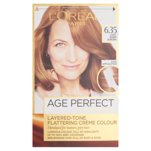Loreal Paris Age Perfect Light Warm Auburn 635 Hair Dye