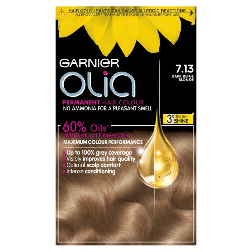 Garnier Olia Permanent Hair Dye Dark Beige Blonde 713