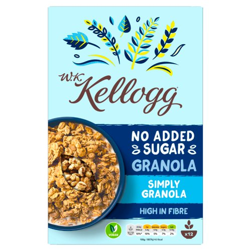 Kellogg's WK Kellogg No Added Sugar Simply Granola