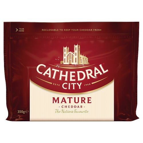 Cathedral City Cheese Mature Cheddar 350g