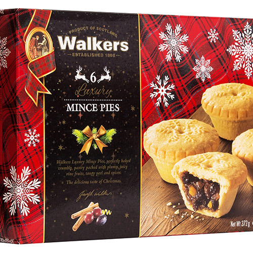 Walkers Luxury Mincemeat Pies
