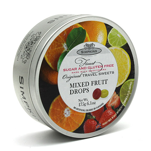 Simpkins Sugar Free Mixed Fruit Travel Sweets