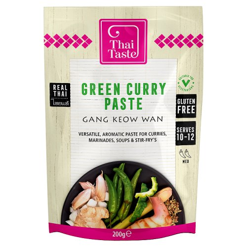 Thai Taste Green Curry Paste - International Foods