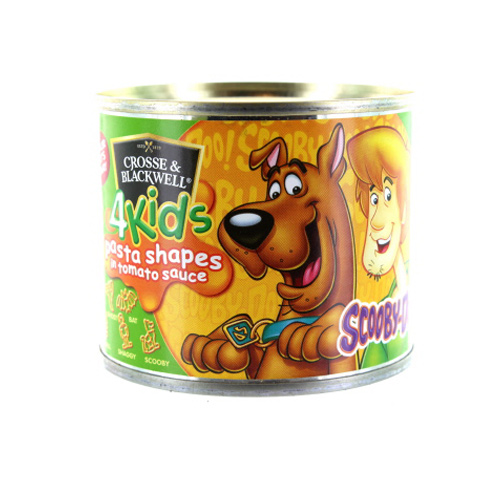 Crosse & Blackwell 4 Kids Scooby Doo Pasta Shapes
