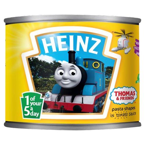 Heinz Thomas Tank Spaghetti Shapes in Tomato Sauce