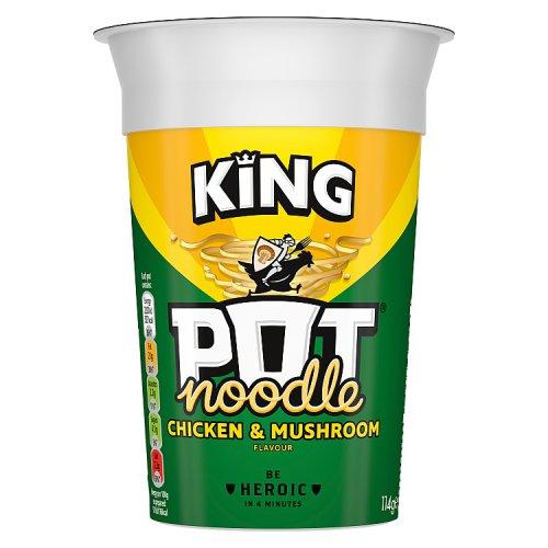 King Pot Noodle Chicken Amp Mushroom