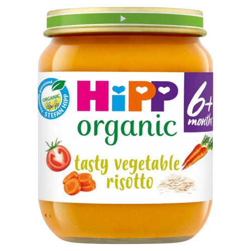 Hipp 4 Month Organic Tasty Vegetable Risotto