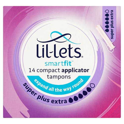 Lillets Compact Super Plus Extra 14 Pack