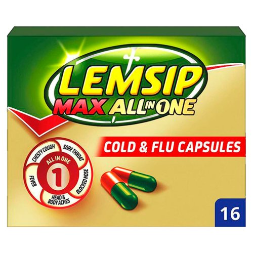Lemsip Max All In One Capsules 16s