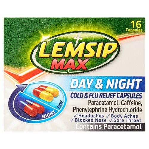 Lemsip Max Day & Night 16s