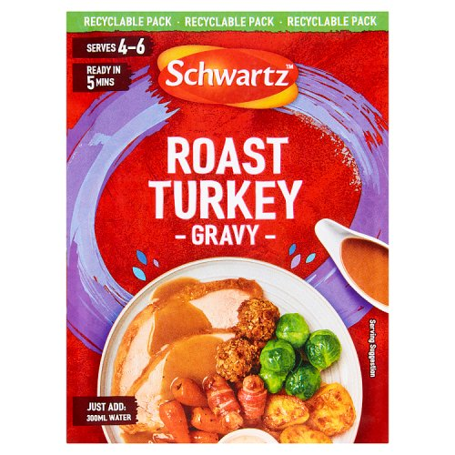 Schwartz Classic Roast Turkey Gravy Mix